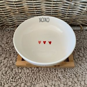 Rae Dunn xoxo heart bowl